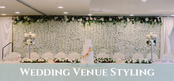 wedding venue styling