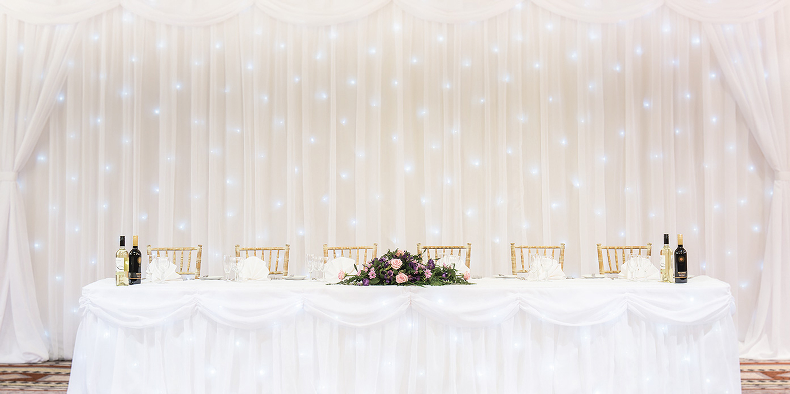 Fairy Light Backdrop