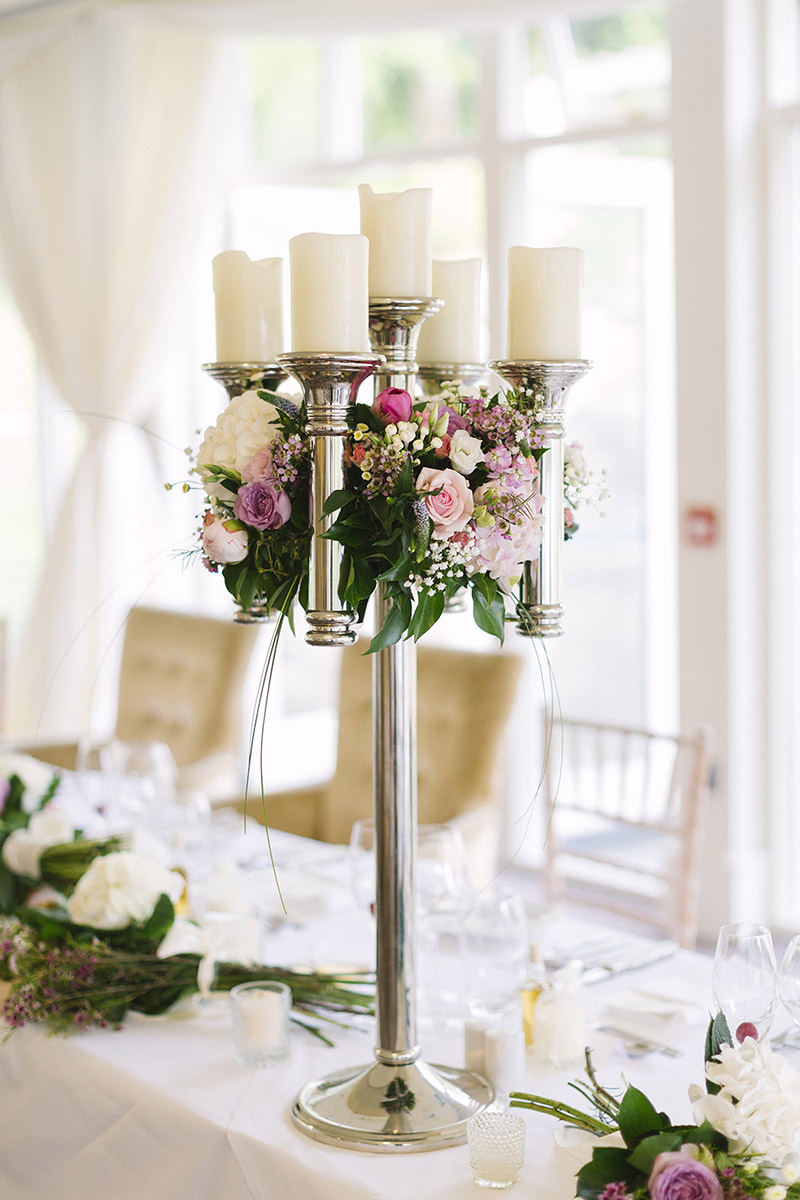 wedding table centerpieces Ireland