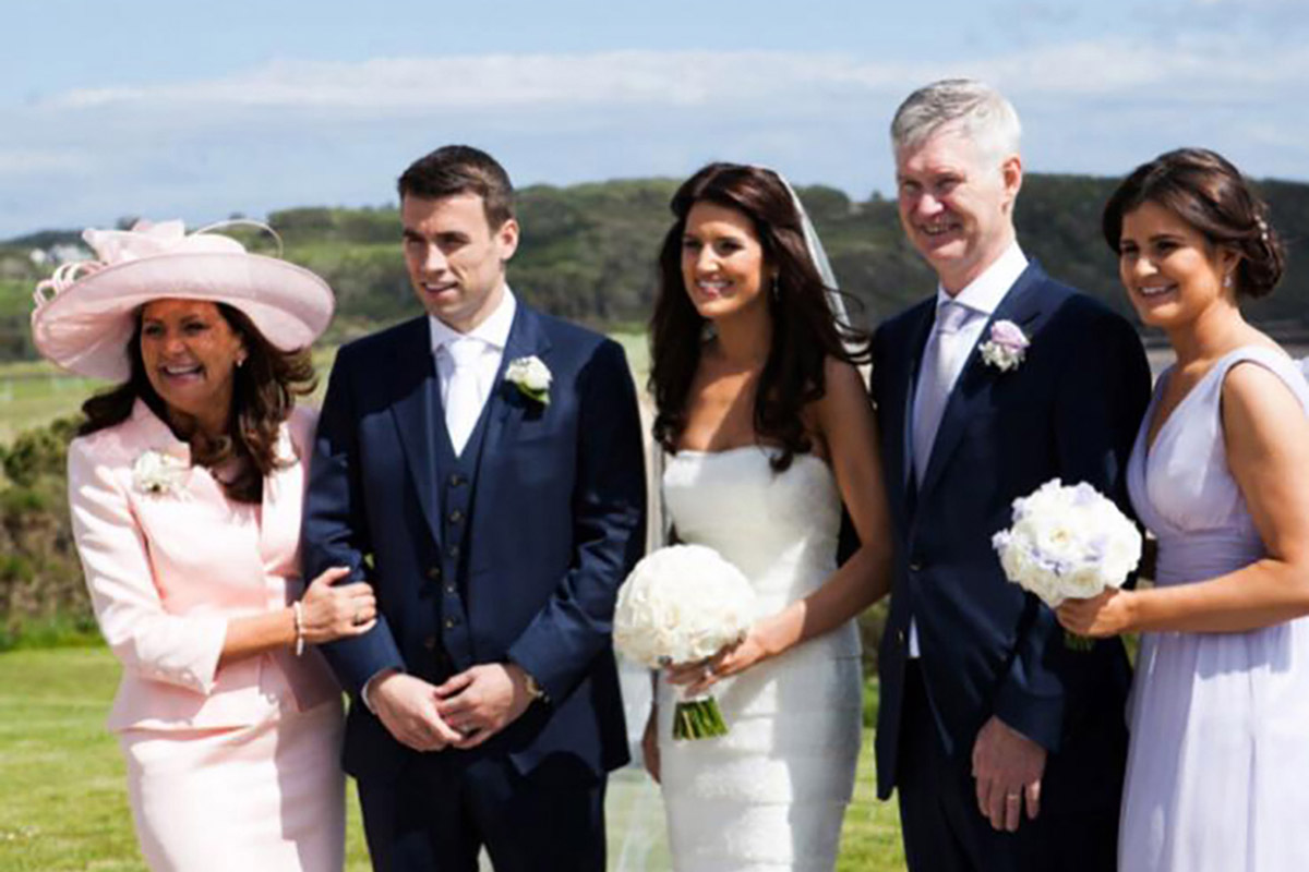Seamus Coleman's wedding in Donegal